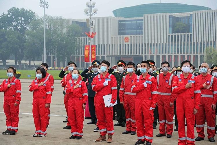 Hành trình Mùa Xuân từ những giếng dầu: Người lao động Dầu khí báo công lên Chủ tịch Hồ Chí Minh
