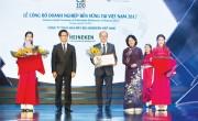 HEINEKEN Việt Nam: Doanh nghiệp sản xuất bền vững hàng đầu tại Việt Nam