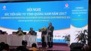 Hội nghị xúc tiến đầu tư tỉnh Quảng Nam 2017