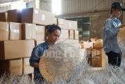 Nghệ An: Thiếu lao động tại các doanh nghiệp xuất khẩu mây tre đan