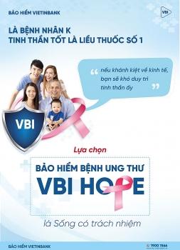bao hiem benh ung thu vbi hope san pham dot pha cua bao hiem vietinbank