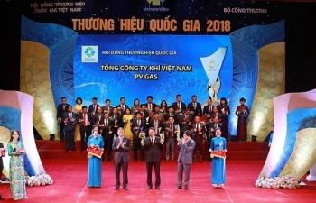 pv gas duoc vinh danh thuong hieu quoc gia 2018 cho san pham lpg