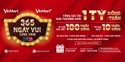 Vinmart & Vinmart + khuyến mại 1 tỷ đồng mừng đại lễ