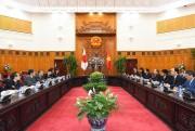 Thủ tướng Nguyễn Xuân Phúc tiếp Chủ tịch Hạ viện Nhật Bản