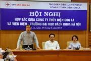 Công ty thủy điện Sơn La hợp tác với Viện Điện ĐHBK Hà Nội