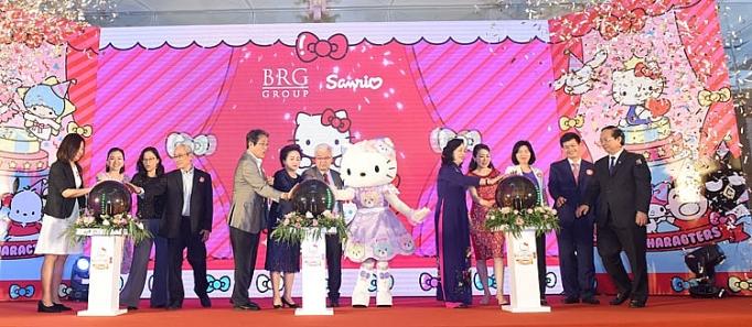 tap doan brg cong bo trien khai du an sanrio hello kitty world hanoi by brg