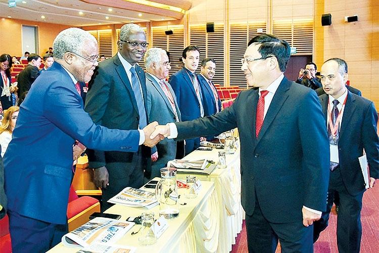 Thương mại với các nước châu Á, châu Phi: Những bước tiến vượt bậc