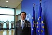 Bộ trưởng Bộ Công Thương Việt Nam làm việc với Cao ủy Thương mại EU