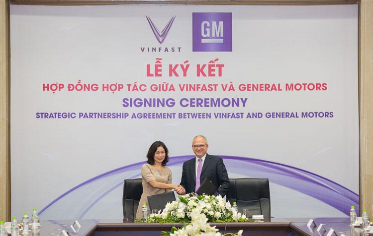 VinFast và General Motors ký hợp đồng hợp tác chiến lược tại thị trường Việt Nam