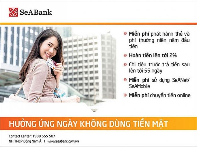 huong ung thang khong dung tien mat voi cac uu dai hap dan tai seabank