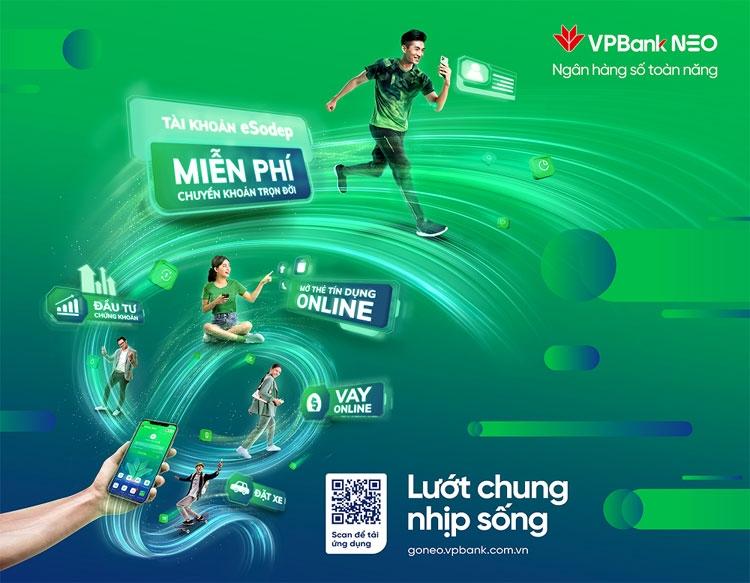 VPBank NEO - nền tảng ngân hàng số toàn năng đầu tiên tại Việt Nam