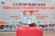 Đại học Công nghiệp Thực phẩm TPHCM 'bắt tay' với các doanh nghiệp