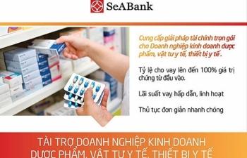 seabank ho tro doanh nghiep kinh doanh duoc pham vat tu y te thiet bi y te