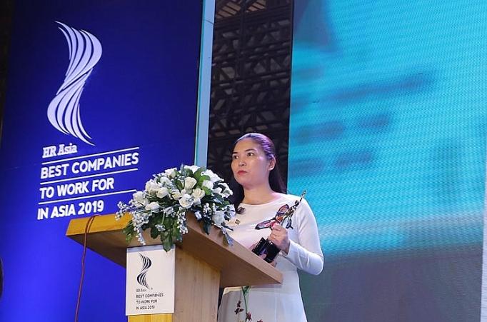 giai thuong doanh nghiep co moi truong lam viec tot nhat chau a 2019 vinh danh sun group