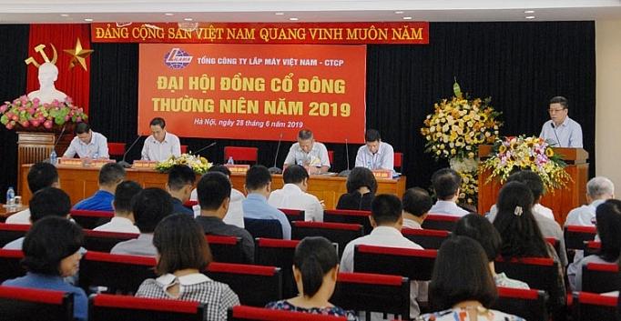 tong cong ty lap may viet nam ctcp dai hoi co dong thuong nien 2019 thanh cong tot dep