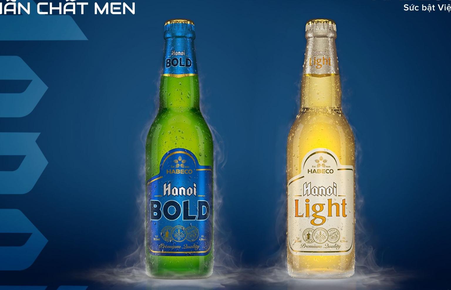 bung no trai nghiem voi hanoi bold va hanoi light vi bia danh cho gioi tre