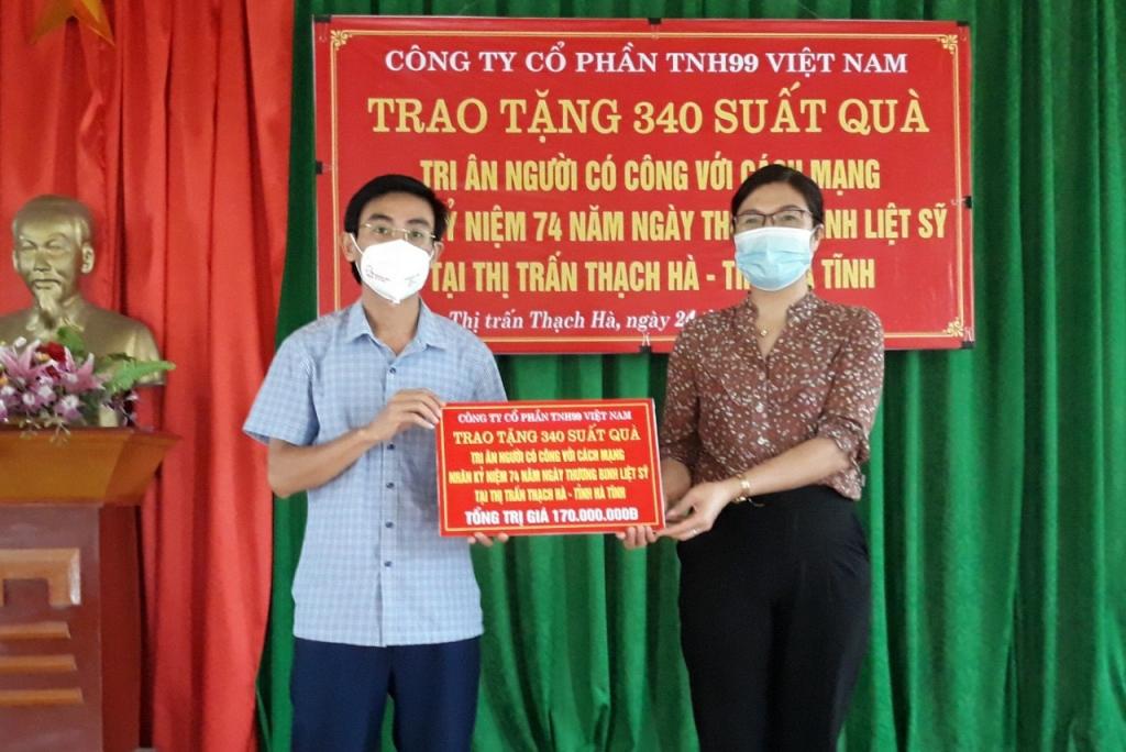 Công ty Cổ phần TNH99 Việt Nam tri ân hướng tới 74 năm Ngày Thương binh - Liệt sỹ 27/7