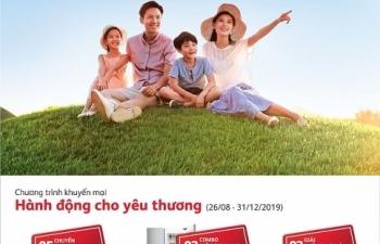 prudential viet nam trien khai chuong trinh khuyen mai hanh dong cho yeu thuong