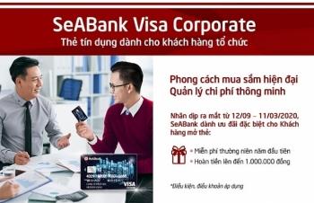 sieu tien loi cho doanh nghiep khi su dung the seabank visa corporate