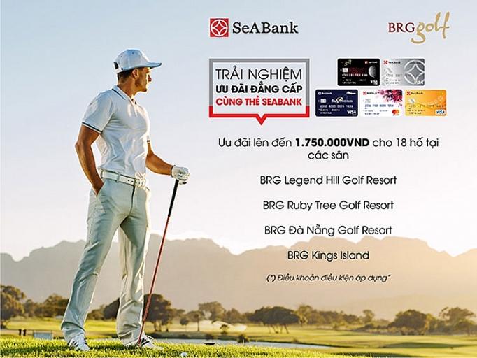 uu dai choi golf dang cap danh rieng cho chu the seabank