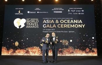 fraser suites hanoi cua bim land dat giai world travel awards 2019