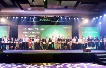 habeco hoi nghi tri an khach hang nam 2019 va cong bo chuong trinh khuyen mai bia ha noi tet 2020