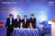 Bảo hiểm Bảo Việt và Ford Việt Nam kí kết hợp tác
