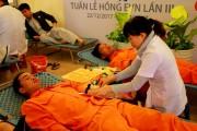 """PC Quảng Nam tổ chức chương trình """"Tuần lễ hồng - Vạn trái tim, một tấm lòng"""""""