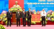 Công ty Xăng dầu Phú Thọ đón nhận Cờ thi đua của Chính phủ