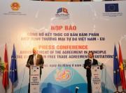 Tuyên bố kết thúc cơ bản đàm phán FTA Việt Nam - EU