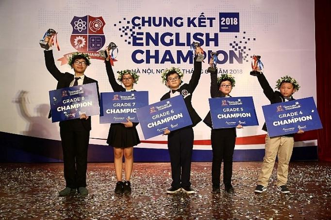 buoc vao mua thu 7 thi sinh english champion se duoc hoc cach lam du an