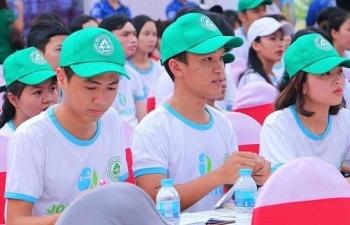 hon 100 doanh nghiep tham gia le hoi viec lam job festival