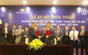 UBND TP. Hà Nội và Vietnam Airlines hợp tác quảng bá du lịch