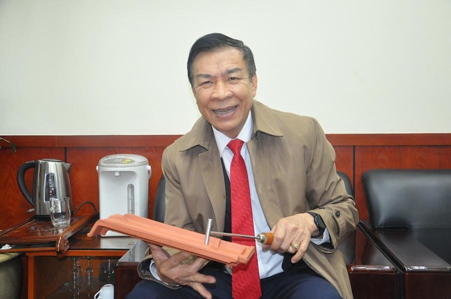 Anh hùng Lao động Nguyễn Quang Mâu: Nặng lòng với đất sét nung