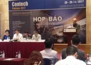 Contech Vietnam 2017 sắp diễn ra tại Hà Nội