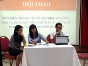 VEAEUFTA: Cơ hội rộng mở cho hàng Việt