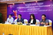 Khởi động Giải TPBank World Amateur Golfers Championship 2017