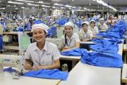 Điều kiện làm việc trong ngành may mặc được cải thiện rõ rệt