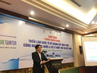 vietwater2018 thuc day phat trien cong nghe thiet bi hien dai nganh nuoc