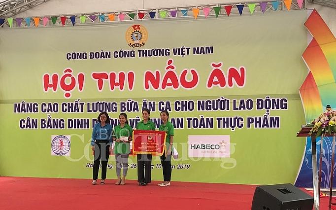 cong doan nganh cong thuong hanh dong vi an toan ve sinh thuc pham