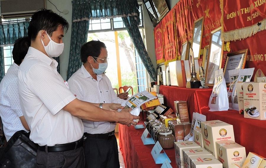 Sản phẩm công nghiệp nông thôn tiêu biểu tiếp tục được ưu tiên hỗ trợ