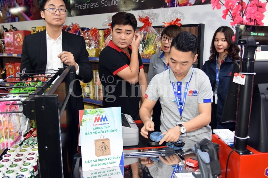 khai truong sieu thi ban le mm super market dau tien tai viet nam