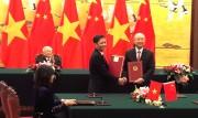 Hoạt động của Bộ trưởng Trần Tuấn Anh trong khuôn khổ chuyến thăm Trung Quốc của Tổng bí thư Nguyễn Phú Trọng