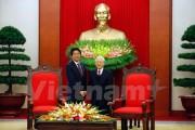 Tổng Bí thư Nguyễn Phú Trọng hoan nghênh Thủ tướng Shinzo Abe trở lại thăm Việt Nam