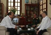 Thủ tướng chúc Tết gia đình các đồng chí nguyên Lãnh đạo Chính phủ