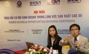 Cơ hội hợp tác mới cho doanh nghiệp cao su Việt Nam -Nhật Bản