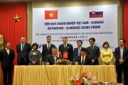 Việt Nam - Slovakia: Ký kết nhiều thỏa thuận hợp tác kinh tế