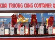 Khai trương cảng container quốc tế trị giá 200 triệu USD tại TP.Hồ Chí Minh