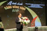 100 mô hình Cánh đồng Vàng Việt Nam năm 2015 được tôn vinh