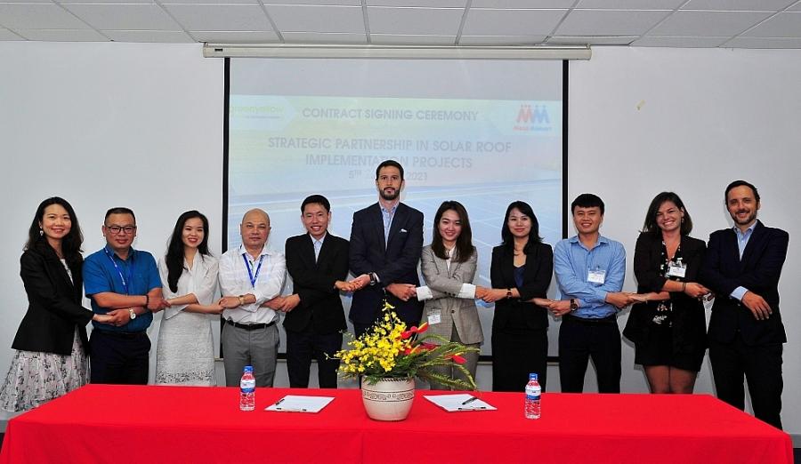 GreenYellow Việt Nam được đánh giá là nhà thầu đáp ứng tốt nhất về chuyên môn và trở thành đối tác chiến lược trong tư vấn và thi công cho 12 trung tâm của MM trên toàn quốc